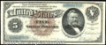 Large Size:Silver Certificates, 1886 $5 Silver Certificate, Fr-263, VF. A beautiful note that i...