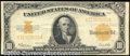Large Size Gold Certificates:Large Size, 1922 $10 Gold Certificate, Fr-1173, VF-XF. Strong color and exc...