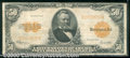 Large Size Gold Certificates:Large Size, 1922 $50 Gold Certificate, Fr-1200, Fine-VF. A bright and attra...