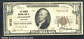 National Bank Notes:Kentucky, Farmers National Bank of Glasgow, KY, Charter #9722. 1929 $10 T...