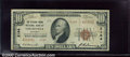 National Bank Notes:Kentucky, Citizens Union National Bank, Louisville, KY, Charter #2164. 19...