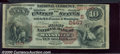 National Bank Notes:Kentucky, First National Bank of Maysville, KY, Charter #2467. 1882 $10 S...