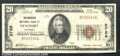 National Bank Notes:Kentucky, American National Bank of Newport , KY, Charter #2726. 1929 $20...