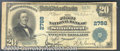 National Bank Notes:Kentucky, First National Bank of Stanford, KY, Charter #2788. 1902 $20 Th...