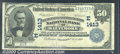 National Bank Notes:Maryland, Merchants-Mechanics First National Bank of Baltimore, MD, Chart...