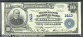 National Bank Notes:Maryland, Merchants National Bank of Baltimore, MD, Charter #1413. 1902 $...
