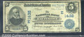 National Bank Notes:Maryland, National Bank of Baltimore, MD, Charter #1432. 1902 $5 Third Ch...