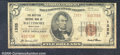 National Bank Notes:Maryland, Western National Bank of Baltimore, MD, Charter #1325. 1929 $5 ...