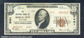 National Bank Notes:Maryland, National Bank of Rising Sun, MD, Charter #2481. 1929 $10 Type T...