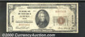 National Bank Notes:Maine, National Shoe & Leather Bank of Auburn, ME, Charter #2270. 1929...