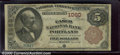 National Bank Notes:Maine, Casco National Bank of Portland, ME, Charter #1060. 1882 $5 Sec...