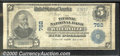 National Bank Notes:Maine, Ticonic National Bank of Waterville, ME, Charter #762. 1902 $5 ...