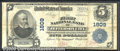 National Bank Notes:Missouri, First National Bank of Jefferson City, MO, Charter #1809. 1902 ...