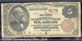 National Bank Notes:Missouri, State National Bank of St. Louis, MO, Charter #5172. 1882 $5 Se...