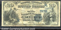 National Bank Notes:Missouri, State National Bank of St. Louis, MO, Charter #5172. 1882 $20 S...