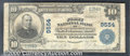 National Bank Notes:Pennsylvania, First National Bank of New Wilmington, PA, Charter #9554. 1902 ...