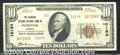 National Bank Notes:Virginia, The Seaboard Citizens National Bank, VA, Charter #10194. 1929 $...