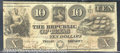Miscellaneous:Republic of Texas Notes, $10, the Republic of Texas, Austin, TX, 1840, A-5, VF. A bright...