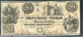 Miscellaneous:Republic of Texas Notes, $20, The Republic of Texas, Austin, TX, 5/15/1840, A-6, VF. Sev...