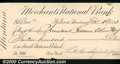 Miscellaneous:Checks, $1300, Merchants National Bank of Helena, MT, 12/19/1884, Check...