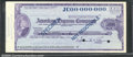 Miscellaneous:Checks, 5000 Yen, American Express Travelers Cheque, Specimen, CU. A sp...