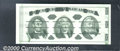Miscellaneous:Other, Giori Test Note, CU. Jefferson head at center, weak green obver...
