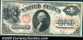 1878 $1 Legal Tender Note, Fr-27, Choice CU+. Outstanding original surfaces on this early series Legal Tender note. The...