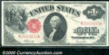 1917 $1 Legal Tender Note, Fr-38, VF. A nice, crisp, and original note with bright colors and good centering. Several fo...