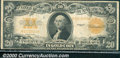 Large Size Gold Certificates:Large Size, 1922 $20 Gold Certificate, Fr-1187, Fine-VF. The note has good ...