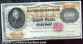 Large Size Gold Certificates:Large Size, 1900 $10,000 Gold Certificate, Fr-1225, Gem CU. A bright and be...