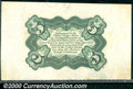 Fractional Currency: , 1864-1869, 5c Third Issue, Clark, Fr-1238SP, Proof Green Back N...