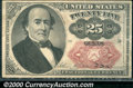 """Fractional Currency: , 1874-1876, 25c Fifth Issue, Walker, Fr-1308, XF. This """"short, e..."""