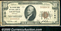 National Bank Notes:Kentucky, The Citizens Union National Bank, KY, Charter #2164. 1929 $10 T...