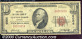 National Bank Notes:Virginia, First National Bank of Clifton Forge, VA, Charter #6008. 1929 $...