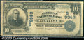 National Bank Notes:Virginia, American National Bank of Danville, VA, Charter #9343. 1902 $10...