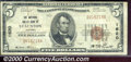 National Bank Notes:Virginia, National Valley Bank of Staunton, VA, Charter #1620. 1929 $5 Ty...