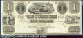 Obsoletes By State:Michigan, $1, The Tecumseh Bank, MI, CU. A bright and attractive note who...