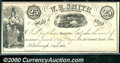 Obsoletes By State:Ohio, 25 Cents, W R Smith, Hillsborough, OH, 4/1/1853, XF-AU. There a...