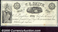 Obsoletes By State:Ohio, 50 cents, W R Smith, Hillsborough, OH, 4/1/1853, VF-XF. An attr...