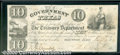 Miscellaneous:Republic of Texas Notes, $10, The Government of Texas, Houston, TX, 1/19/1839, H-17, AU....