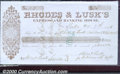 Miscellaneous:Checks, Check, Rhodes & Lusk's Express and Banking House, Yreka, CA, 11...