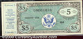 Miscellaneous:Other, Military Payment Certificate, Series 472, 1948 5 Dollars VF-XF....