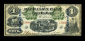 Canadian Currency: , Montreal, CE- The Mechanics Bank $4 June 1, 1872 Ch. # 430-10-04c. ...