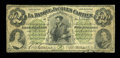 Canadian Currency: , Montreal, PQ- La Banque Jacques Cartier $2 Jan. 2, 1862 Ch. #390-10-04. ...