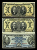 Canadian Currency: , Montreal, PQ- La Banque Provinciale du Canada $10 (2), $20 Jan. 31,1919, Aug. 1, 1928 Ch. # 615-14-14, 615-14-16, 615-14-18... (Total:3 notes)