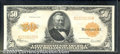 Large Size Gold Certificates:Large Size, 1922 $50 Gold Certificate, Fr-1200, AU. Outstanding eye appeal ...