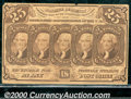 Fractional Currency: , 1862-1863 25c First Issue, Jefferson, Fr-1281, VF. This note lo...