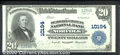 National Bank Notes:Virginia, The Seaboard Citizens National Bank, VA, Charter #10194. 1902 $...