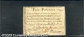 Colonial Notes:North Carolina, December, 1771, 2p, North Carolina, NC-141, VF. There are two t...
