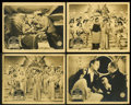 "Movie Posters:Musical, Anything Goes (Paramount, 1936). British Front of House Stills (4)(8"" X 10""). Musical.... (Total: 4 Items)"